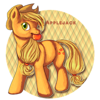 APPLEJACK by KaceyMeg