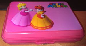 My Princess Daisy and Peach 3DS case by PrincessDaisyRocks10