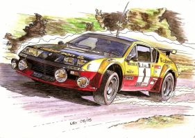 Alpine A310 V6 Group 4 by Leotrek
