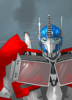 Optimus Prime by Arsevere