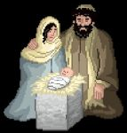 Pixel Nativity by gavacho13