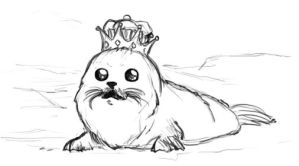 Seal King by Zippedbinders