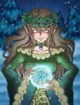 Conjuring Winter by Melonie-Moon