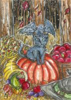 Their Harvest (ACEO) by Keyshe54