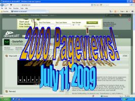 2000 Pageviews by Skelefish