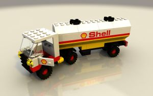 LEGO Shell Truck by zpaolo