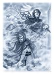 Vin and Kelsier - Masters of the Mist by Ingvild-S