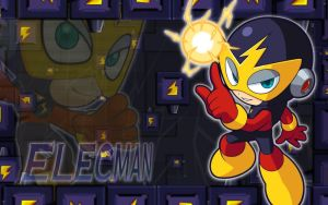 ElecMan Powered Up Wallpaper by Ageman20XX