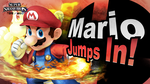 Mario Jumps In Smash Bros.! by MaxiGamer