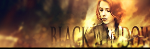 Black widow signature by Artush