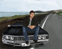 SPN - Dean Winchester by ExplosiveCoffee