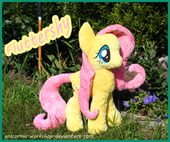 + Fluttershy Plushie + by Kamisia