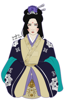 Lady Consort Ling Ying of Wei by sorryfire