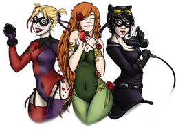 Gotham Girls by Cherrie-Keane