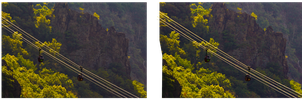 Gondola Lift 3D ::: HDR-Hyperstereo Cross Eye ::: by zour