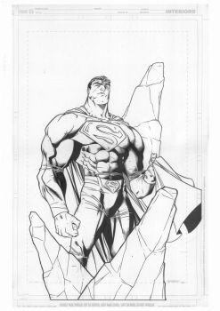 SUPERMAN - By Carlo Barberi by JonnydelaFuente