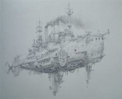Air battleship by voitv