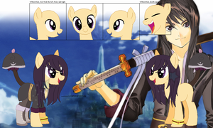 Yuri and Vesperia's official reference sheet by Starlollipop