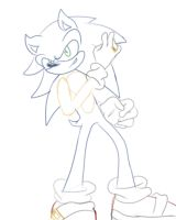 Sonic and the world of Rings -sketch- by DaniChaos234
