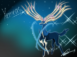 Xerneas by ShawnnL