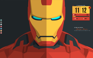 Iron Man Desktop. Running Mate 14.04 by speedracker