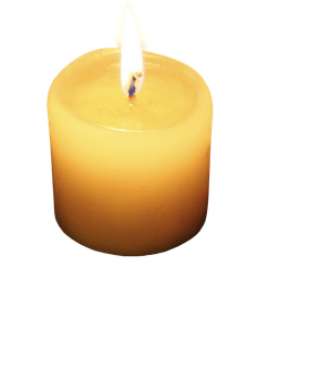 burning candle png by camelfobia