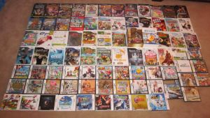 My Game Collection Part 1 by Bunnie5420