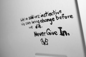 Never Give In by SerenityFyre13