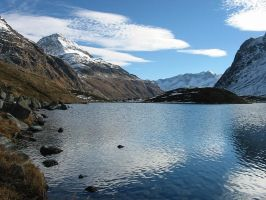 lake on julierpass by felixw