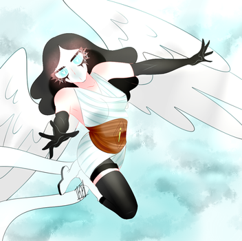 Super Angel - COMMISSION by karlyfrost