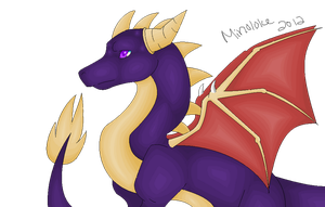 Spyro Pixel Attempt fail by Minoloke