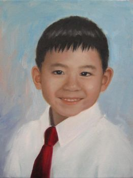 Portrait of a Boy by meijeanie
