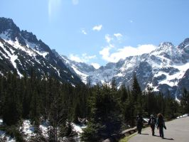 On the way to Morskie Oko1 by Woolfred
