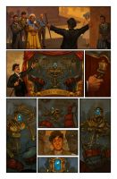 Clockwork Angels Issue 2 Page 4 by NickRoblesArt