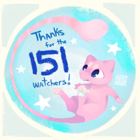 Thanks for the 151 watchers! by madeinCOLOUR