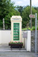 old irish telephone kiosk by morrbyte