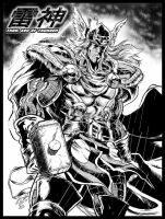 Thor: (RAIJIN) God of Thunder by CdubbArt