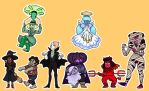 Steven Universe Halloween by darkwings16