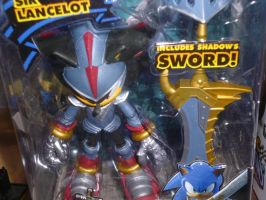 Sonic and the blank knight Lancelot by sira-the-hedgehog