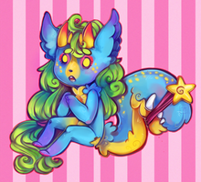 Itty Bitty Candy Bite by CrypticInk