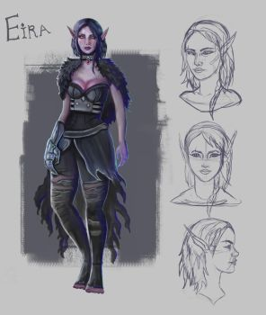 Eira Character Design by Cinder-Cat