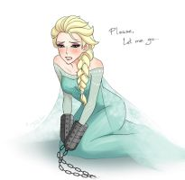 Elsa - please let me go [Frozen] by DarikaArt