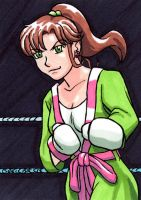 Sailor Jupiter in the Ring by shellpresto