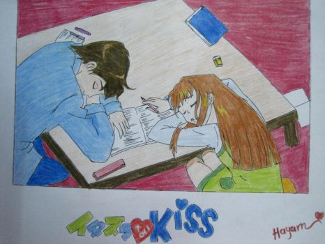Playful Kiss IV by Hayoma