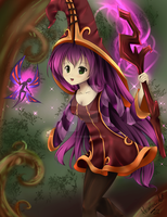 ::League of Legends:: Lulu, the Fae Sorceress by artsy-akalei