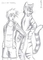 Calvin and Hobbes by rainbowtail101