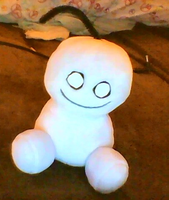Homemade Cry Plushie by Pasceli
