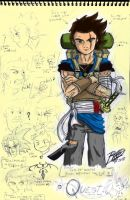 Isamu Final Sketch 1 by Patrick-Theater