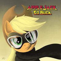 Applejack - So Buck by kefkafloyd