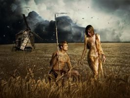Tribe-couple5 by gardjeto7